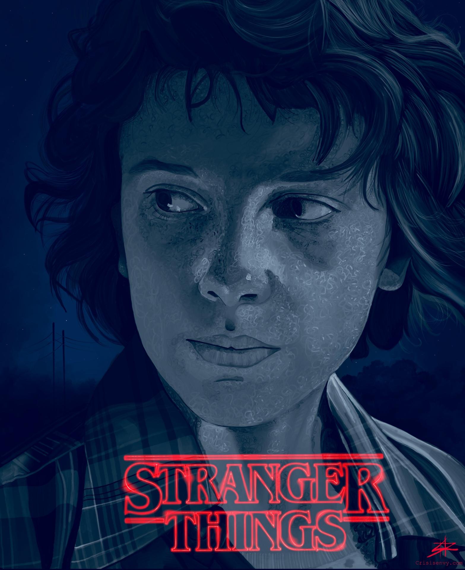Eleven of Stranger Things